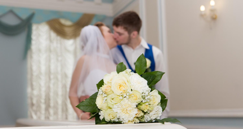 Свадебная фотосессия в Загсе: Ольга и Алексей