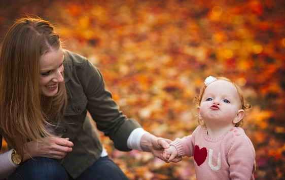 семейная фотосессия осенью