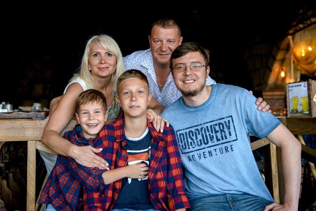 семейные фотосессии спб