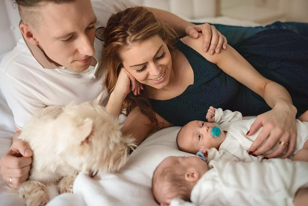 фотосессия дома семья